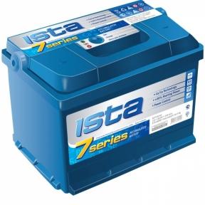 Аккумулятор Ista 7 series 60Ah R+ 600A (низкобазовый)