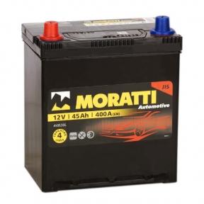 Аккумулятор Moratti 45Ah JL+ 400A