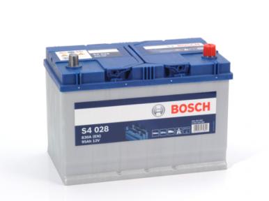 Аккумулятор Bosch S4 028 Silver 6CT 95AH JR+830A
