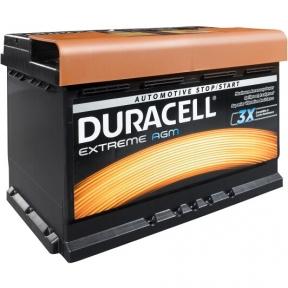 Аккумулятор автомобильный Duracell 6СТ- 70Ah R+ 720A