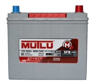 Аккумулятор Mutlu SFB Technology (Ser3) 55Ah JR+ 450A