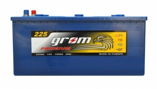 Аккумулятор Grom Premium 225Ah L+ 1500A