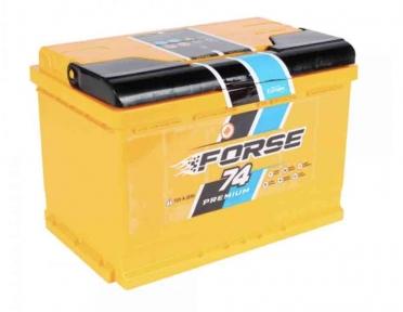 Аккумулятор Forse 74Ah R+ 720A