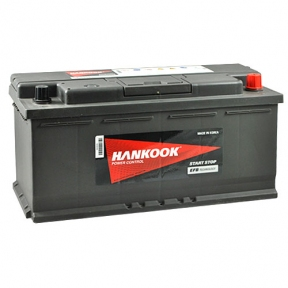 Аккумулятор автомобильный HANKOOK EFB 6СТ-110Ah R+ 950A Start Stop (EN)