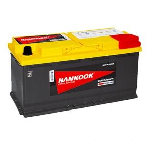 Аккумулятор автомобильный HANKOOK AGM 6СТ-95Ah R+ 850A Start Stop (EN)