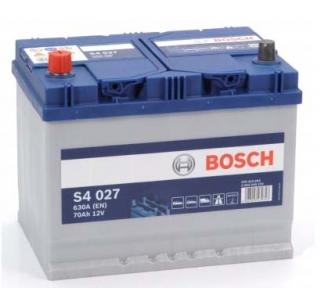 Аккумулятор Bosch S4 027 Silver 70AH JL+630A