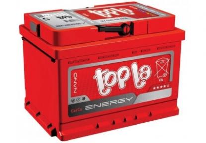 Аккумулятор автомобильный Topla 6СТ- 60Ah L+ 600A