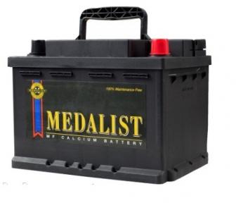 Аккумулятор Medalist 61Ah R+ 600A (низкобазовый)