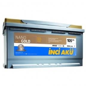 Аккумулятор INCI AKU NanoGold Start-Stop 105Ah R+ 960A