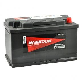 Аккумулятор автомобильный HANKOOK  EFB 6СТ- 80Ah JR+ 800A Start Stop (EN)