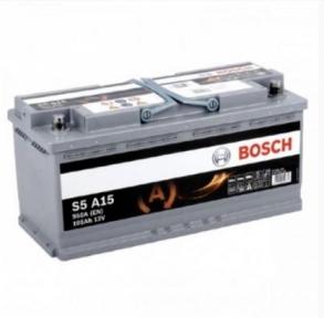 Аккумулятор Bosch S5 A15 AGM 105AH R+950A