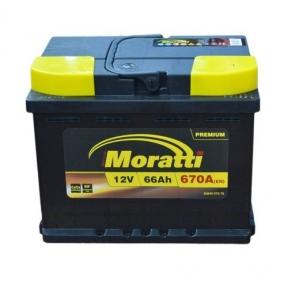 Аккумулятор Moratti 66Ah R+ 670A