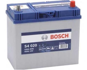 Аккумулятор Bosch S4 020 45AH JR+330A (EN) (Тонкая клемма)