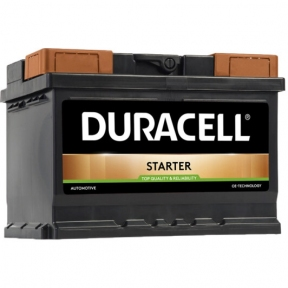 Аккумулятор автомобильный Duracell 6СТ- 55Ah R+ 450A