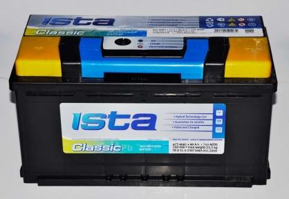 Аккумулятор Ista Classic 90Ah L+ 760A