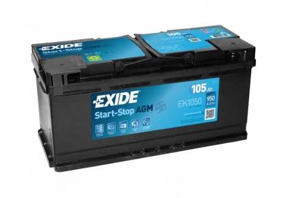 Аккумулятор автомобильный Exide AGM 105Ah R+ 950A (EN)