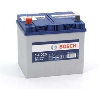Аккумулятор Bosch S4 025 Silver 60AH JL+540A