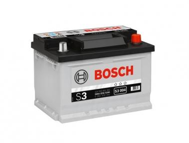 Аккумулятор Bosch S3 004 53AH R+500A (EN) (Низкобазовый)