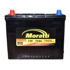 Аккумулятор Moratti 75Ah JL+ 700A
