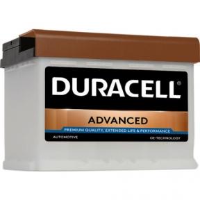 Аккумулятор автомобильный Duracell 6СТ- 63Ah R+ 620A