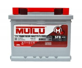 Аккумулятор Mutlu SFB Technology (Ser3) 55Ah R+ 540A