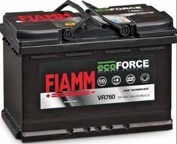 Аккумулятор автомобильный Fiamm Ecoforce AGM 70Ah R+ 760A