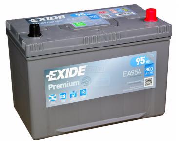 Аккумулятор Exide Premium 95Ah JR+ 800A