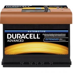 Аккумулятор автомобильный Duracell 6СТ- 62Ah R+ 550A