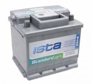 Аккумулятор Ista Standard 50Ah R+ 420A