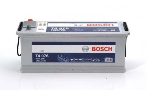 Аккумулятор Bosch T4 076 HD 140AH L+800A